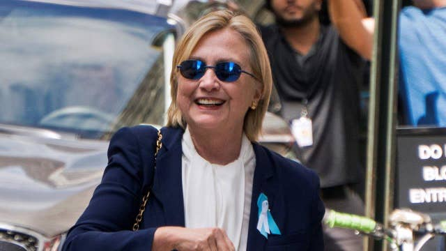 Hillary Clinton home with pneumonia