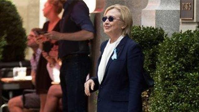 Is Clinton's health 'an issue'?