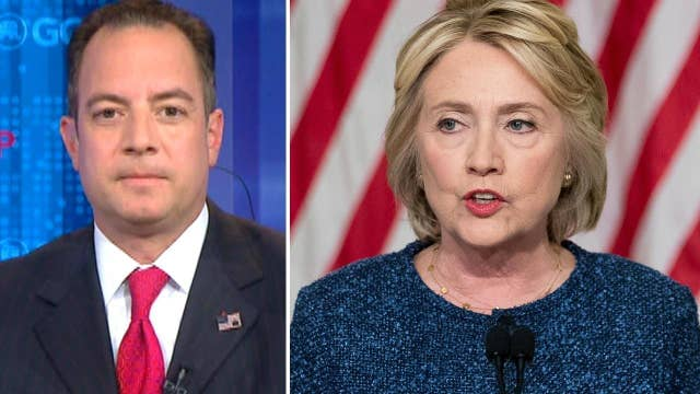 Priebus: Hillary Clinton's true colors are coming out