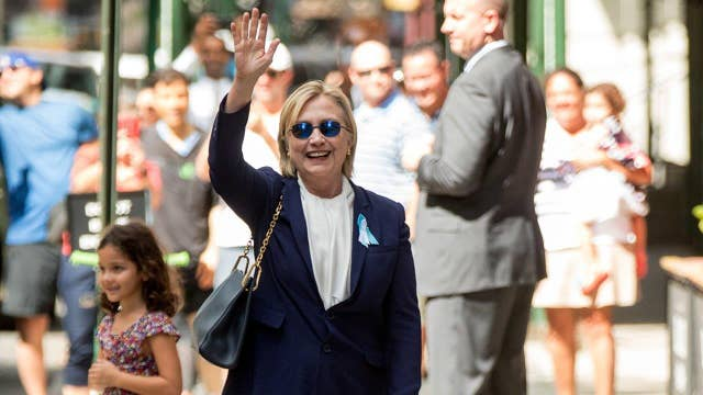 Hilllary Clinton off campaign trail due to pneumonia