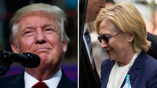 Latest battleground polls: Good-bad news for Trump, Clinton