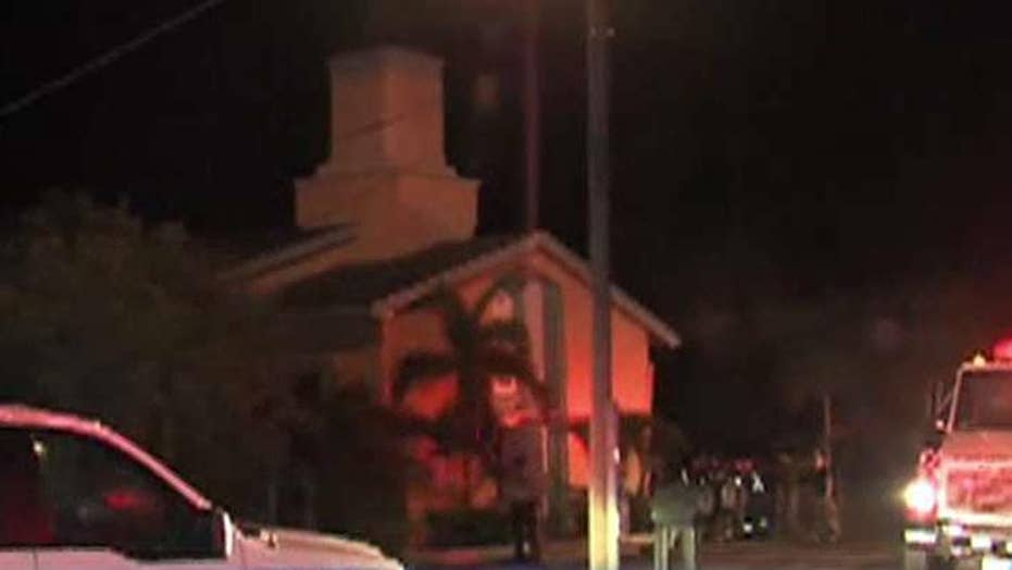 Arson at Orlando shooter's place of worship