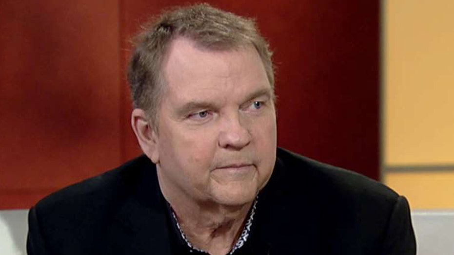 Meat Loaf reassures fans after collapsing on stage