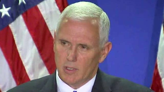 Pence: Clinton's 'distain' of voters disqualifies her for WH