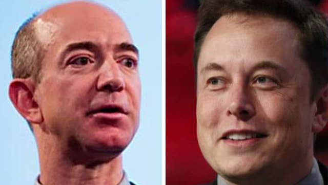 New space race between industry titans