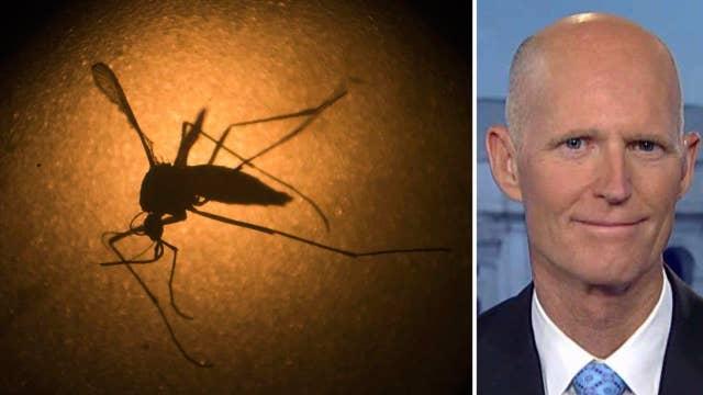 Gov. Scott hopes Congress stops playing politics with Zika