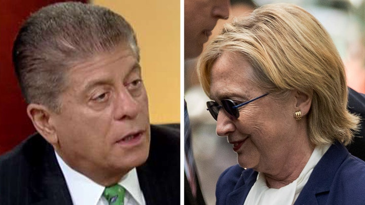 Napolitano: If Clinton lays low Trump will take off