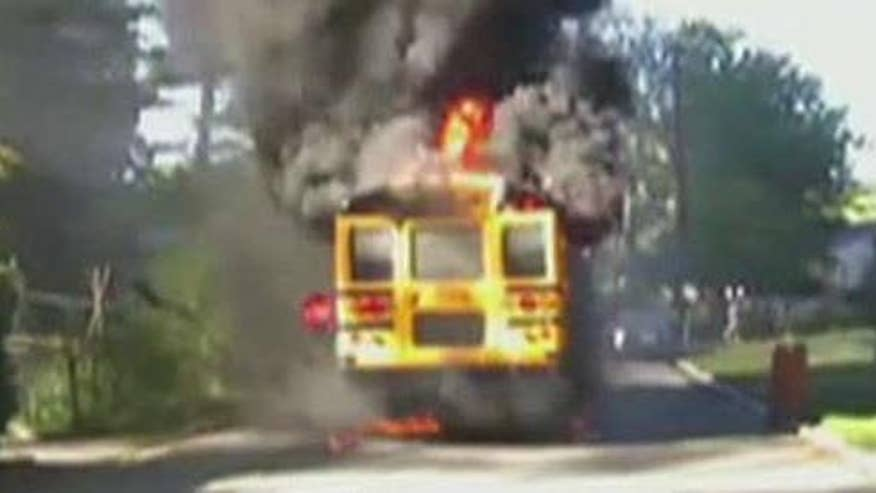 Bus driver hailed as a hero