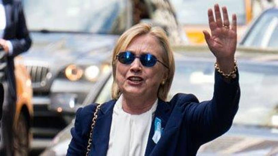In wake of health scare, is Clinton replaceable?
