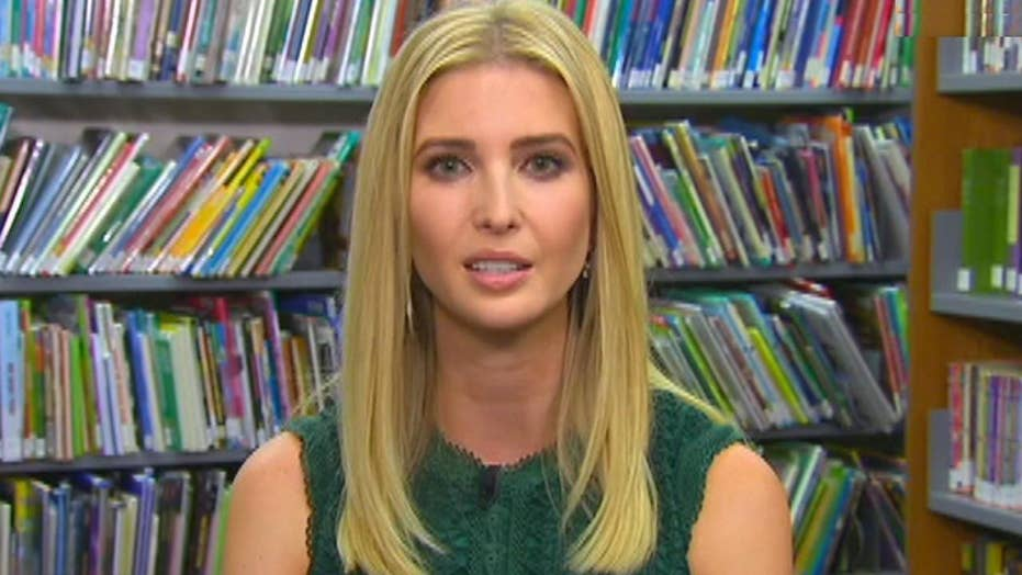 Ivanka Trump on the importance of child-care reforms