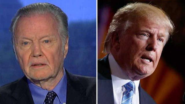 Why Jon Voight is 'very impressed' by 'unusual' Trump