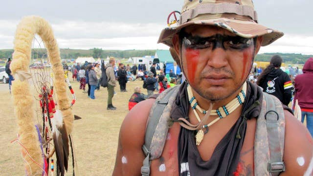Protests grow over construction of North Dakota pipeline