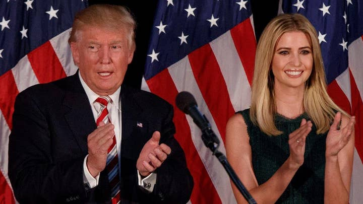 Ivanka Trump teams up with dad outling affordable childcare