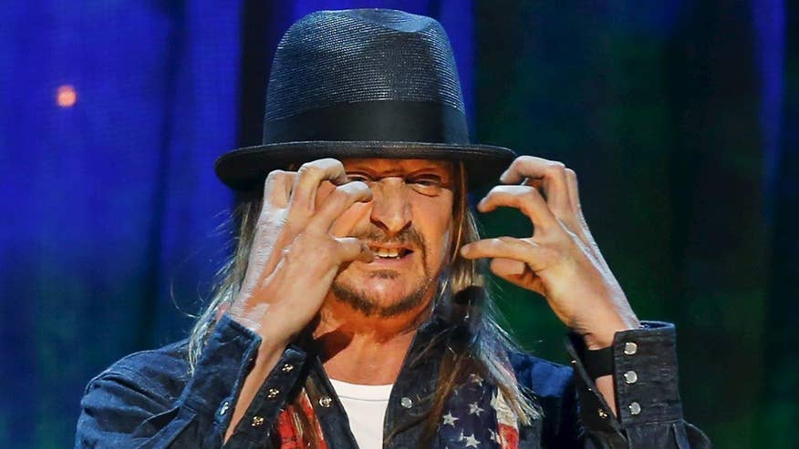 Four4Four: Kid Rock blasted Colin Kaepernick during his concert and added the 'Star Spangled Banner' to his set list