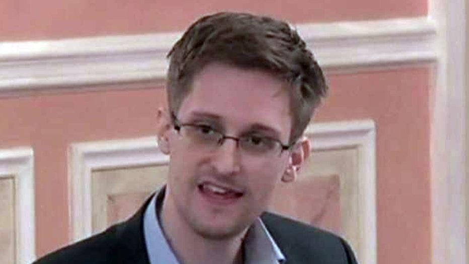 Edward Snowden seeking presidential pardon