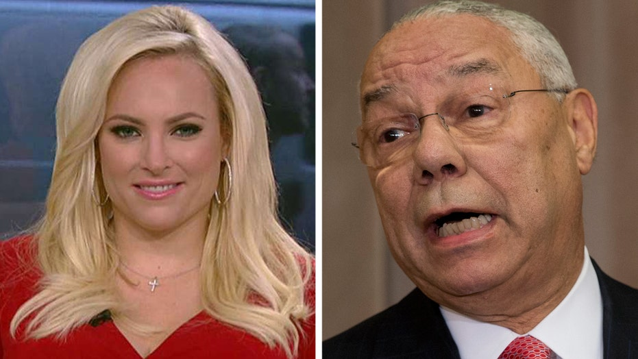 Meghan McCain: Colin Powell is covering himself right now