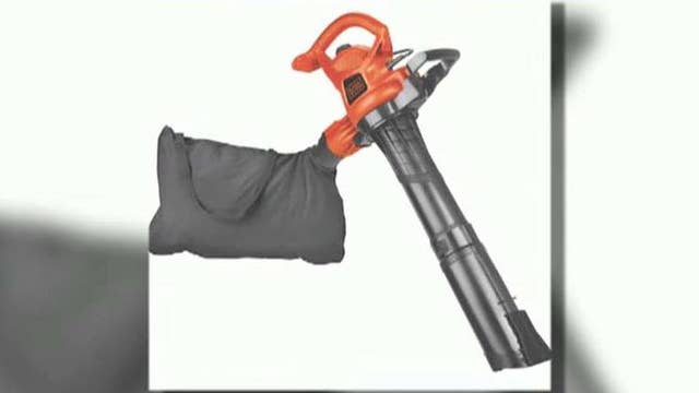 Black & Decker recalls over 500,000 leaf blowers