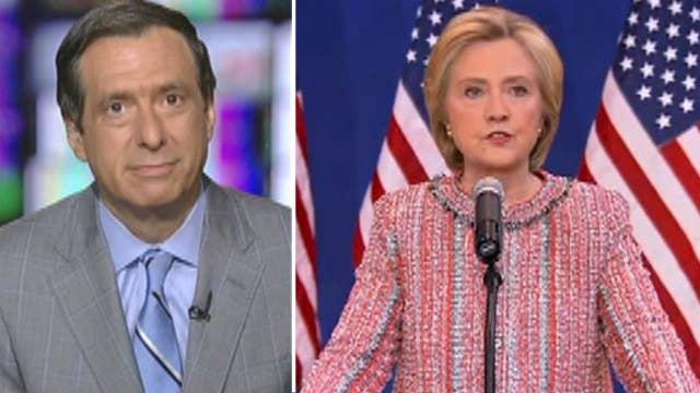 Howard Kurtz: Clinton, press 'extraordinarily low key'