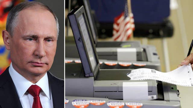 Heightened concerns that Russia will hack US election