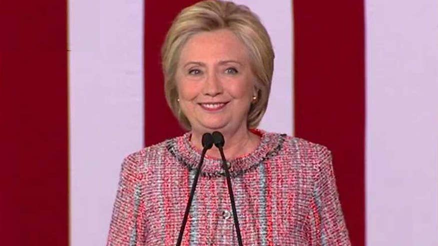 Democratic presidential nominee tells supporters in Greensboro, North Carolina that time off allowed her reflect on the campaign