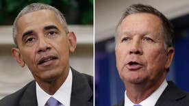 The Ohio governor's push for the deal puts him at odds with Trump; Kevin Corke has the details for 'Special Report'
