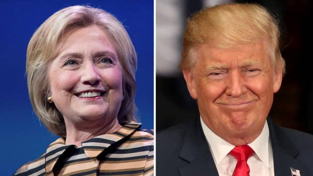 Polls show supporters of Clinton, Trump equally enthusiastic