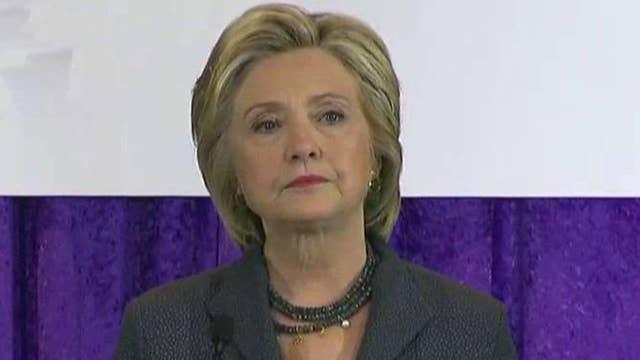 Clinton uses pneumonia to take jab at Republicans