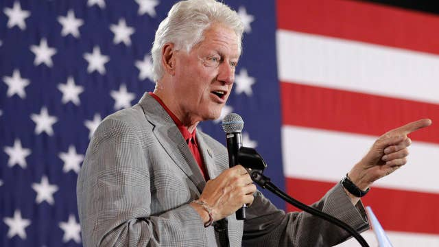 Report: Democrats worried Bill Clinton is losing his touch