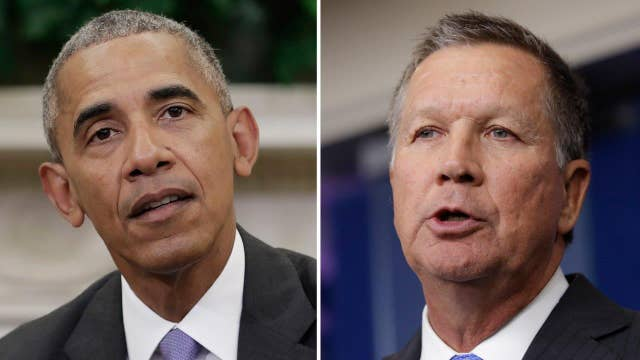 Kasich joins forces with Obama to promote TPP trade deal