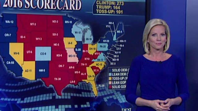 Dissecting the electoral map and the path to the White House