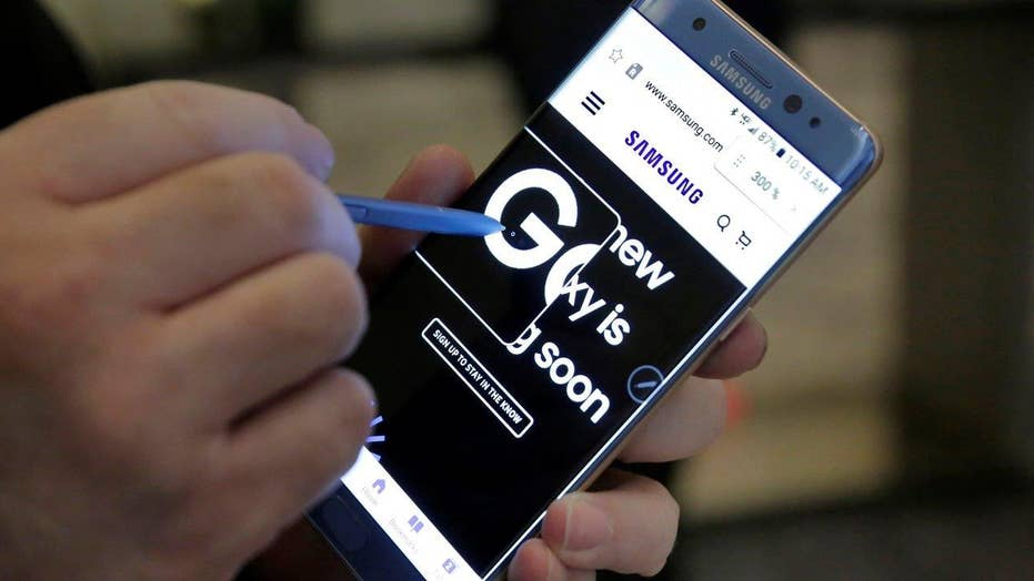 Feds recall 1 million Samsung Galaxy Note 7s