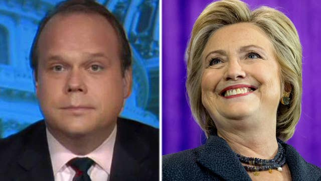 Chris Stirewalt on poll numbers: Clinton is 'falling apart'