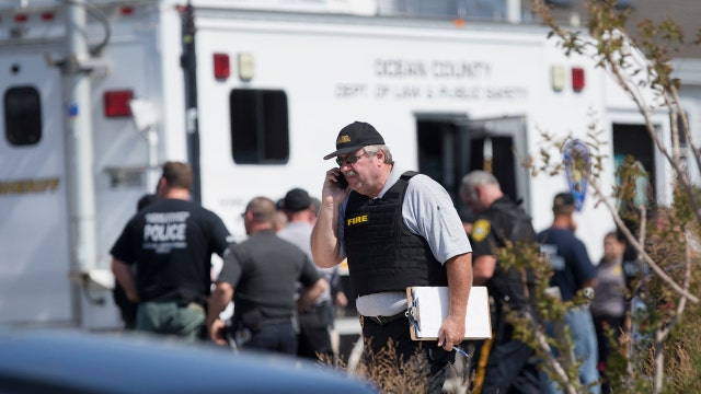 Local and federal officials investigate pipe bomb blast
