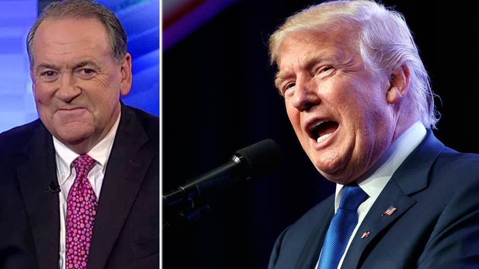 Mike Huckabee: There's no evidence that Trump is racist