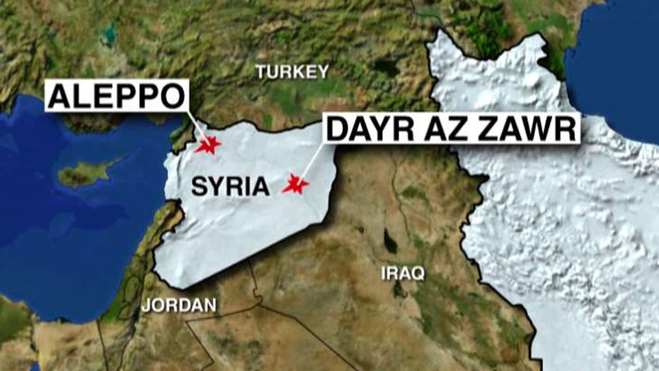 US-led airstrike may have unintentionally hit Syrian forces