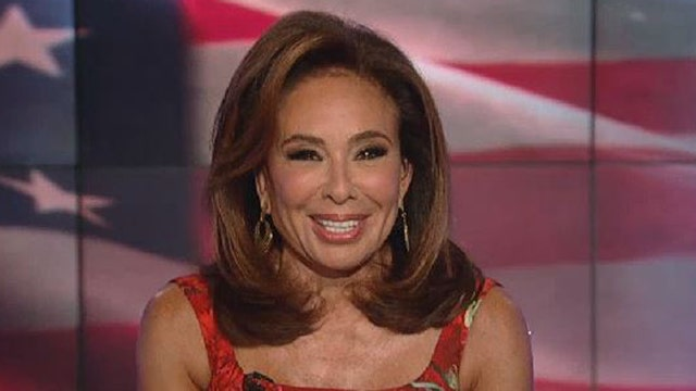 Judge Jeanine: You're the one creating division, Hillary