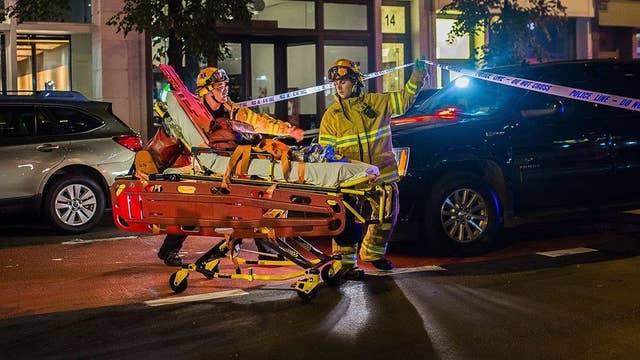 Geraldo Rivera reports from scene of Chelsea explosion