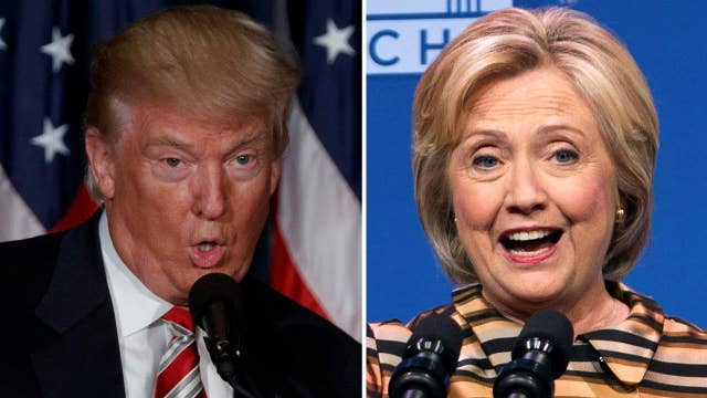 Comparing presidential candidates' reactions to NY explosion