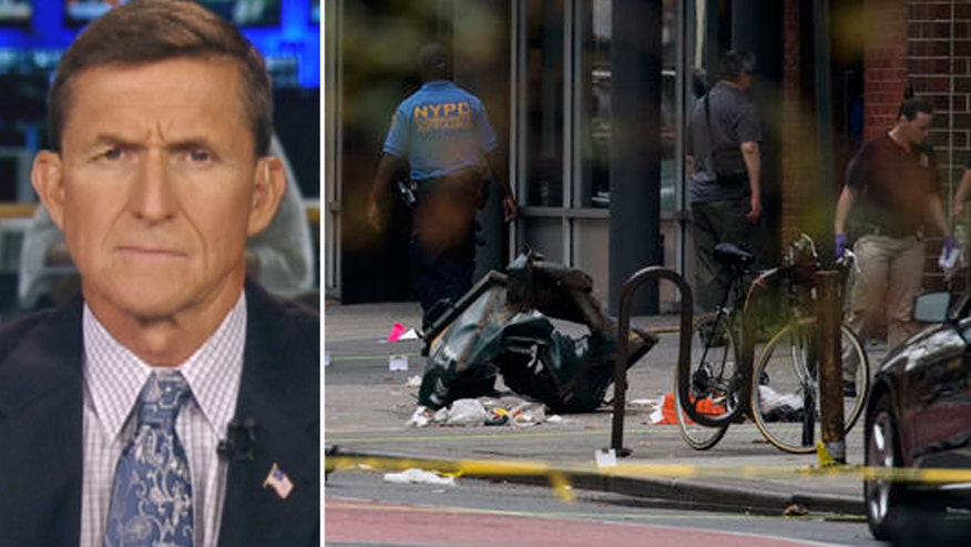 Former FBI assistant director James Kallstrom and Trump military adviser Michael Flynn speak out after explosion in New York City