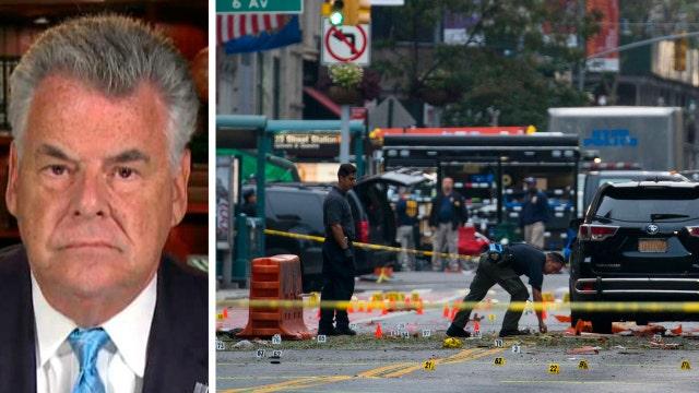 Rep. King on evidence linking NY, NJ bombings