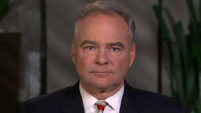 Tim Kaine discusses 'birther' issue, Clinton's transparency