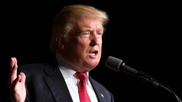 Trump lashes out at Clinton as he addresses terror attacks