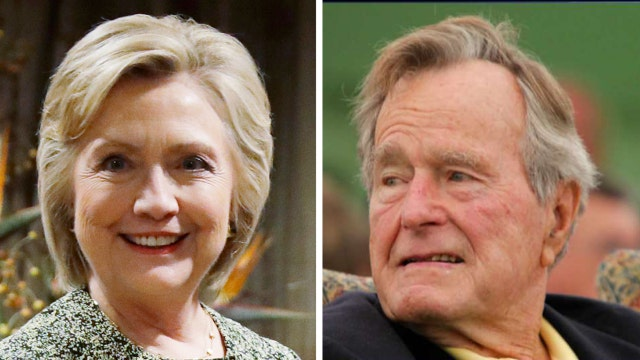 Report: George H W Bush to vote for Hillary Clinton