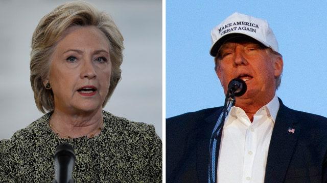 Trump and Clinton trade attacks on terror
