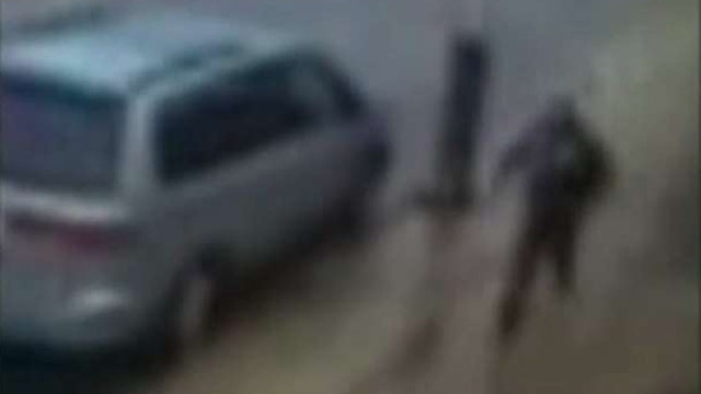 New video shows bombing suspect fleeing police