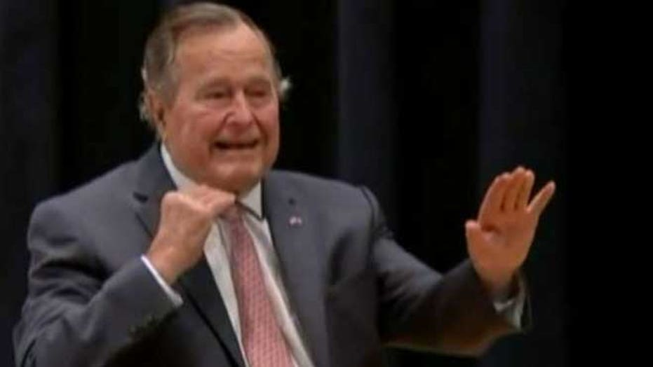 George H.W. Bush to vote for Hillary?