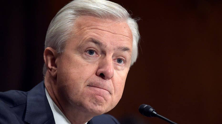 Wells Fargo CEO faces angry lawmakers on Capitol Hill