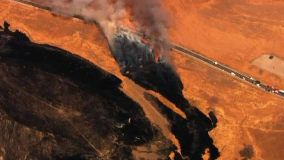 Pilot dead after U2 spy plane crashes in California