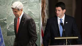 The House Speaker's comments came after Kerry's aides admitted the nuclear deal may have emboldened the regime; James Rosen with the details for 'Special Report'