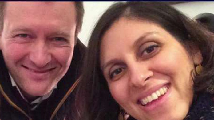 Husband of aid worker jailed in Iran says his wife is being used as 'bargaining chip'